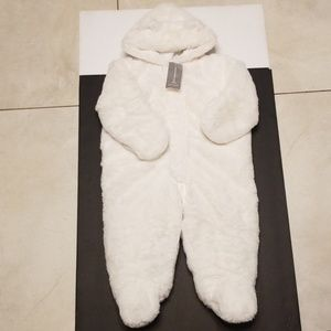 First Impression white fur snow suit